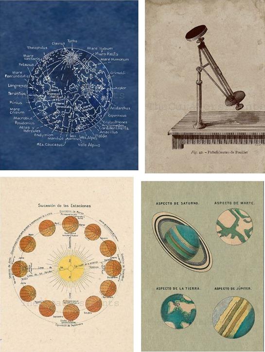 astronomy prints