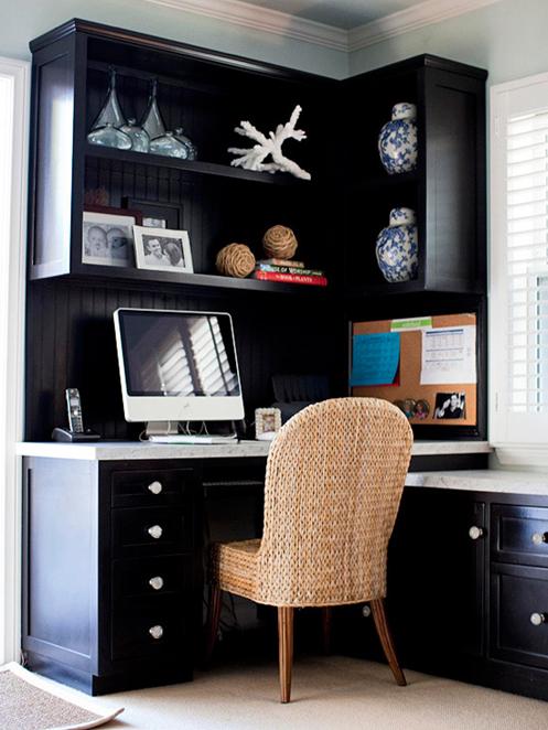 black office cabinets bhg