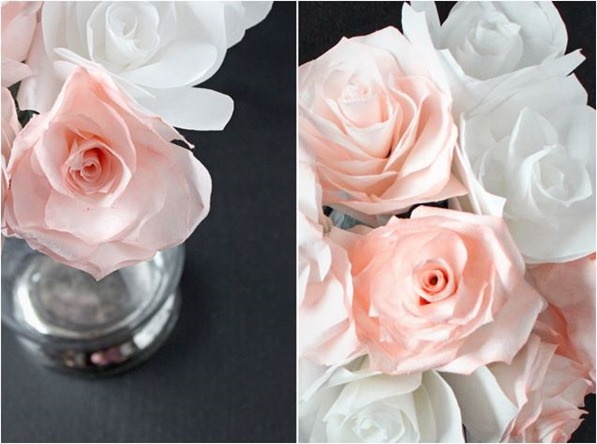 coffee filter roses justbella