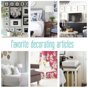 favorite decorating articles at centsational girl