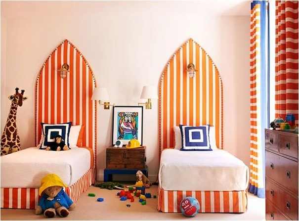 orange surfboard style headboards anne hepfer