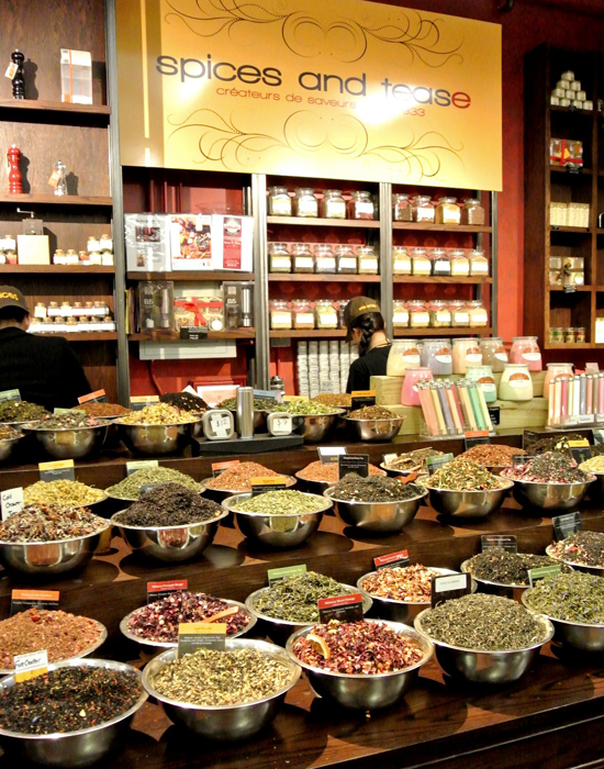 spices and tease shop