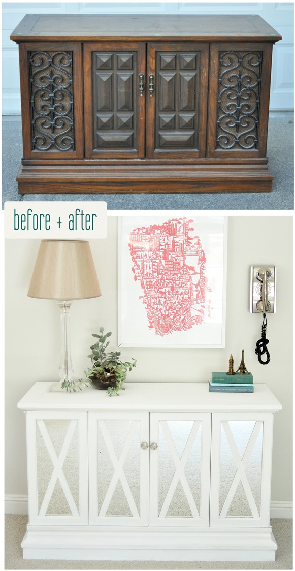 thrift store makeover centsational girl