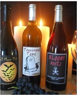 adult halloween labels