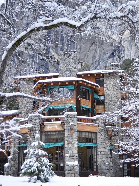 ahwahnee hotel yosemite winter