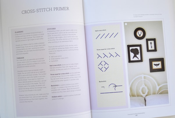 cross stitch primer