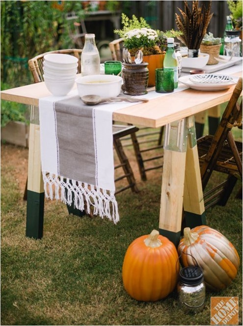 sawhorse table homedepot