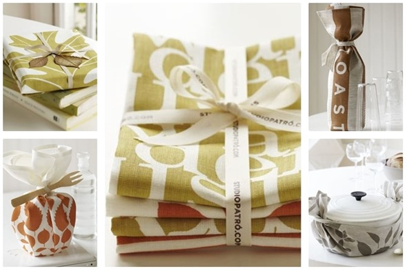 studio patro linens as gifts