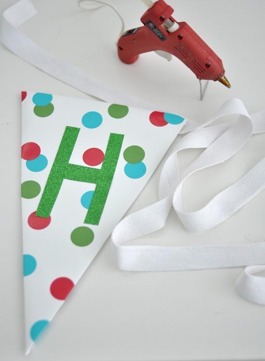 hot glue twill ribbon