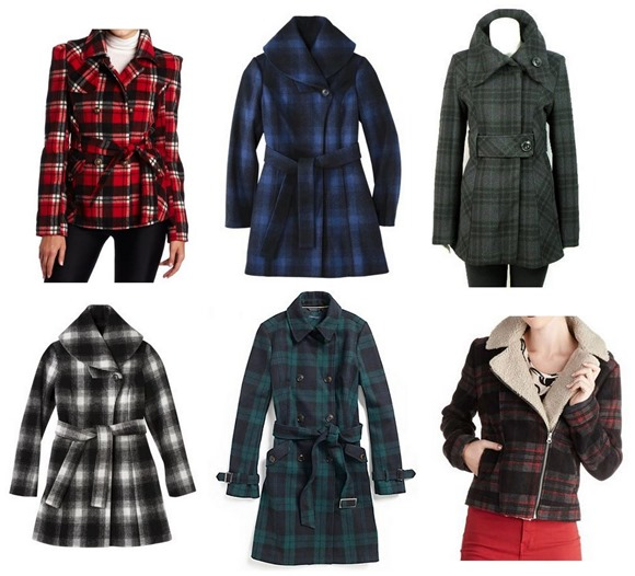tartan plaid coats