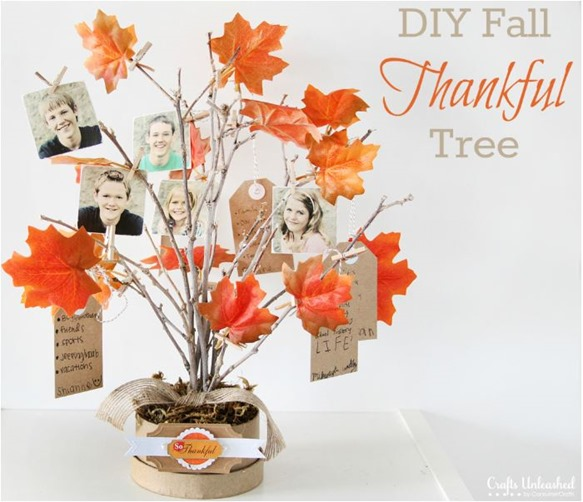 thankful tree crafts unleashed