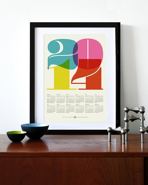 bold type calendar