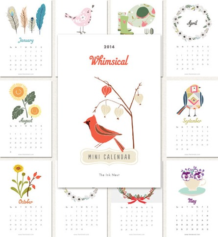 2014 Calendars by Etsy Artists | Centsational Style