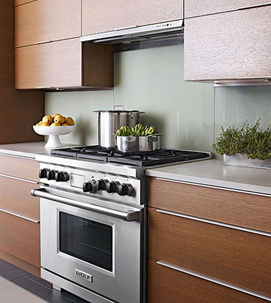 contemporary wood cabinetry