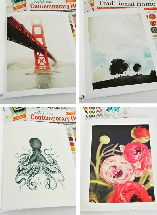 pages of art