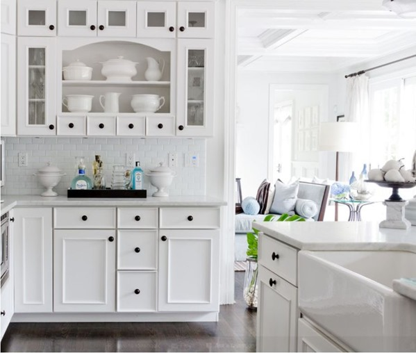 White Kitchen Cabinet Hardware: House Of The Moment