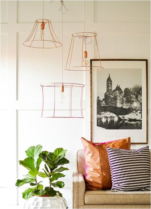 upcycled lampshades vintage revivals
