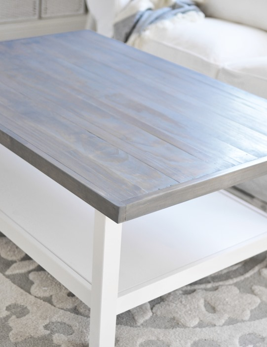 Weathered Gray Coffee Table
