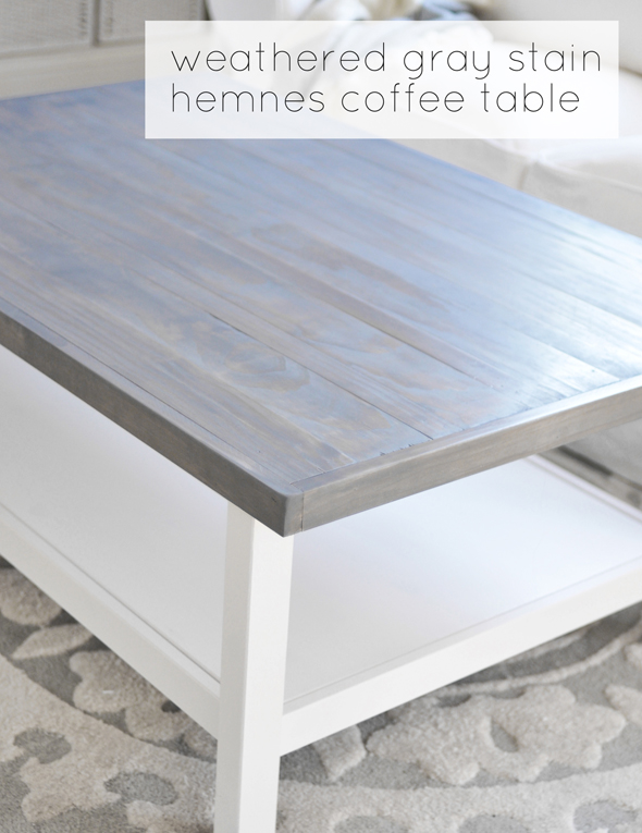 Buy used furniture unique with images of buy used style new at - Weathered Gray Coffee Table Centsational Girl