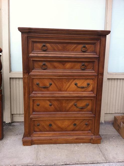 classic wood dresser