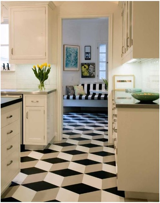 Linoleum Floor Tiles linoleum tile vinyl flooring bathroom linoleum flooring in linoleum Are Bringing Luxury Geometric Vinyl And Linoleum Tiles To Market