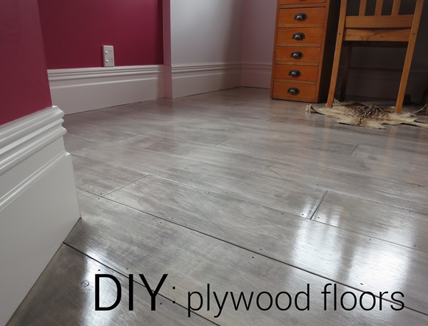 Diy Plywood Plank Floors Centsational