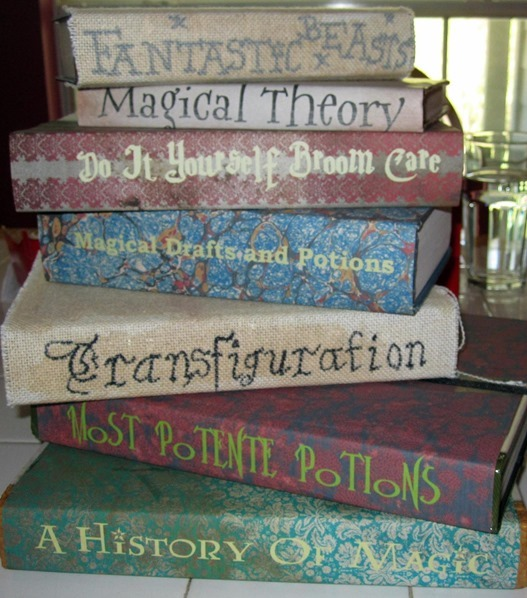 harry potter textbooks