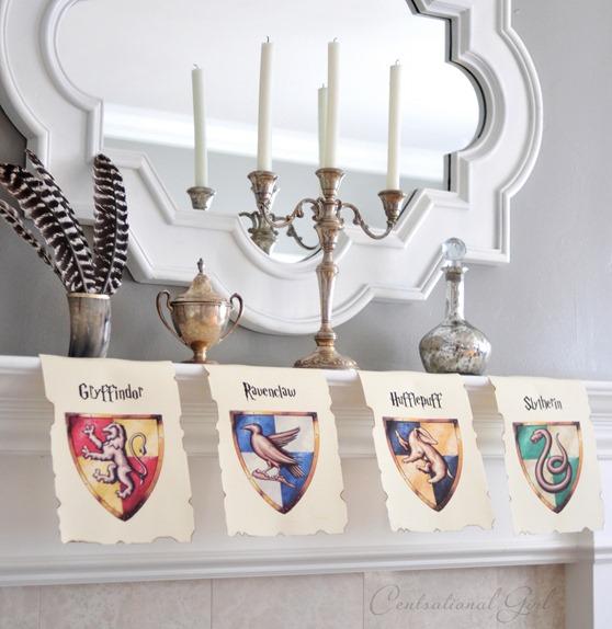 hogwarts house banner