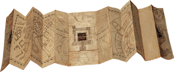 marauders map unfolded