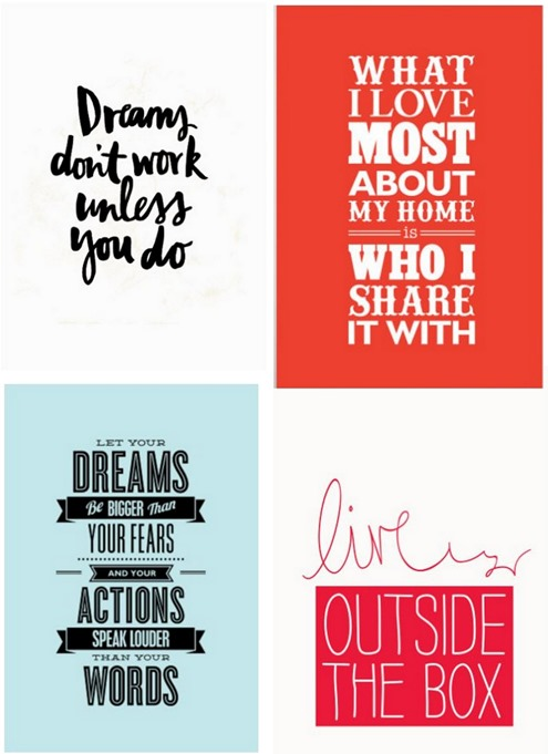 motivated type prints