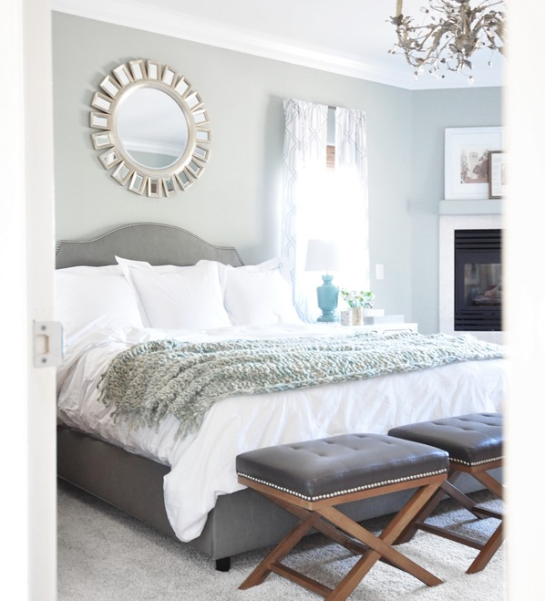 Peeping In Bedroom: Tailored Touches To The Master