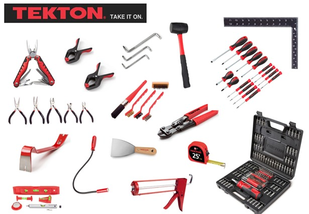 tekton tool kit giveaway