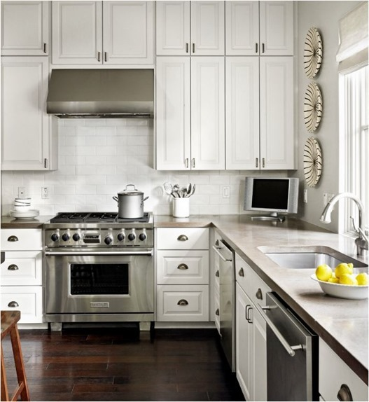 Choices For Kitchen Countertops : Kitchen Countertop Options: Pros + Cons Centsational Girl