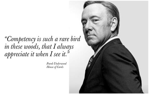 francis underwood quote