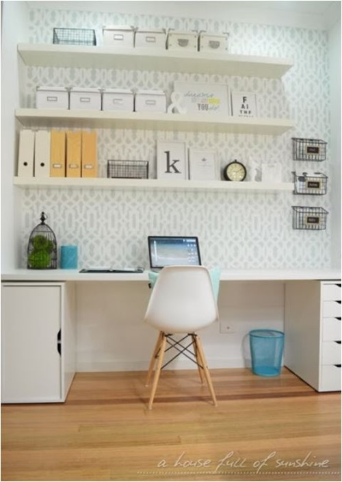 mini home office housefullofsunshine