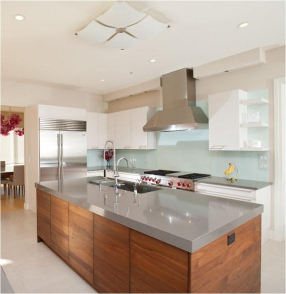 Kitchen Quartz Countertops: Kitchen Countertop Options: Pros + Cons