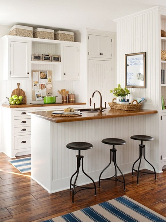 wood countertops bhg
