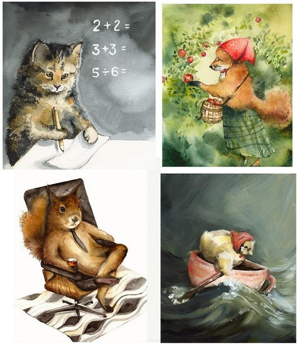 amberalexander watercolors