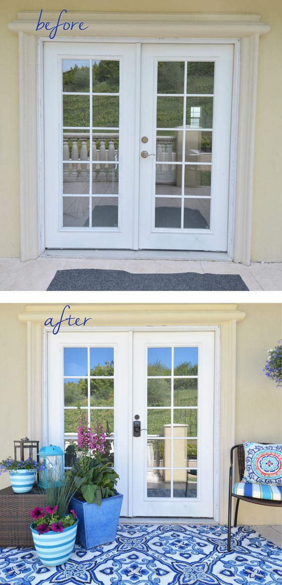 Dressed Up French Doors Centsational Style