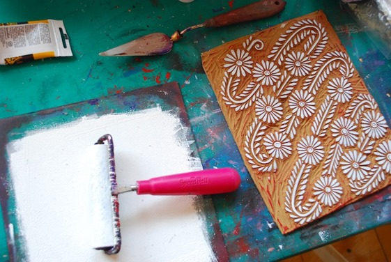 Inspired By Block Print Centsational Girl