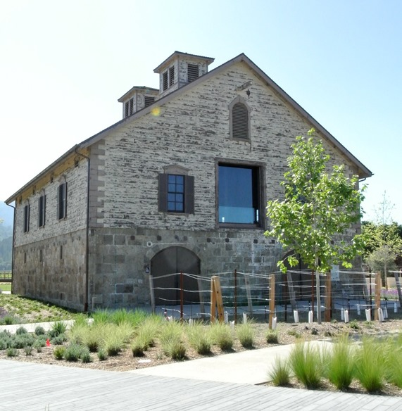 hall winery building