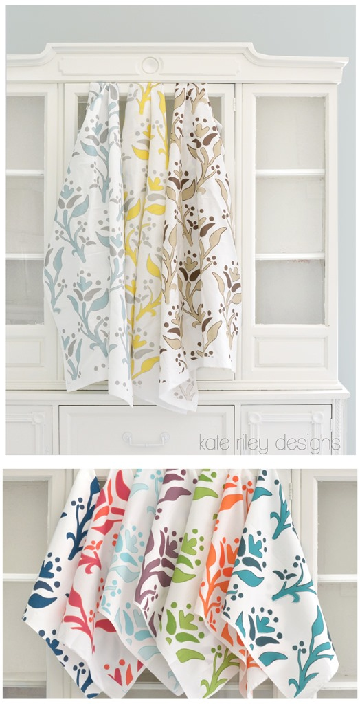 kate riley designs summer print