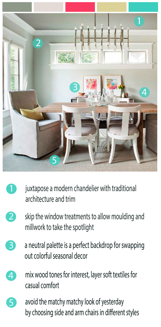 takeaway tuesday versatile dining space