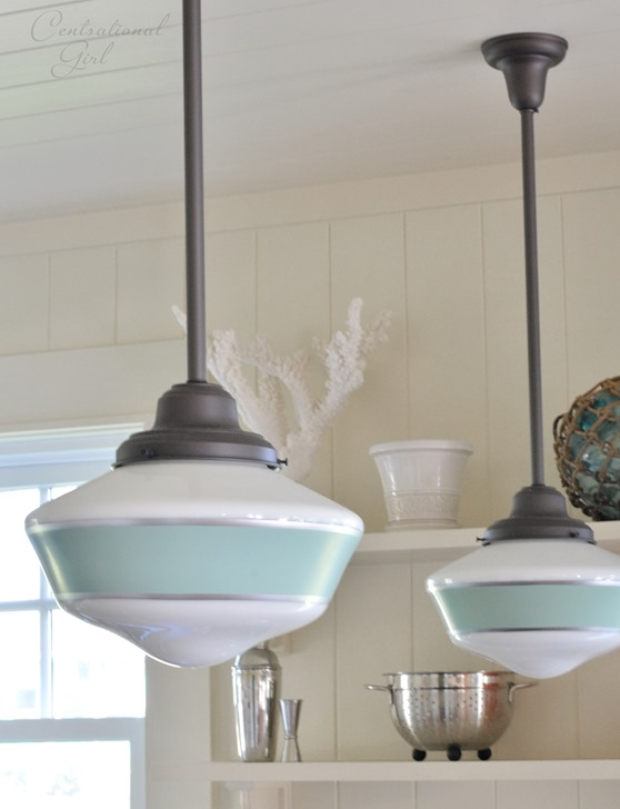 Cottage Kitchen Light Fixtures