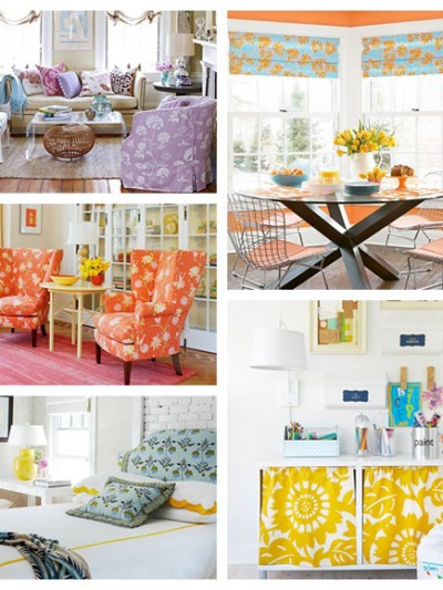 decorating with florals