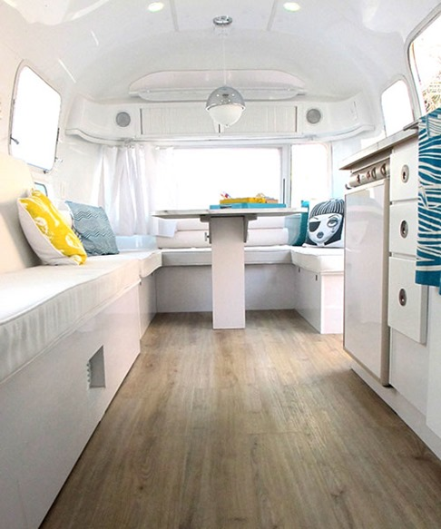 bright modern airstream