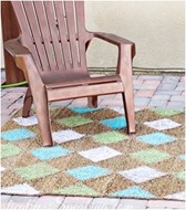 diamond painted rug