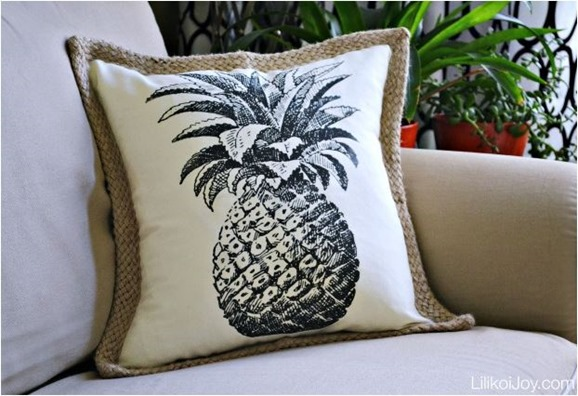pineapple pillow diy