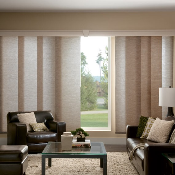 Patio door curtains with valance - Window Treatments For Sliding Doors Centsational Girl