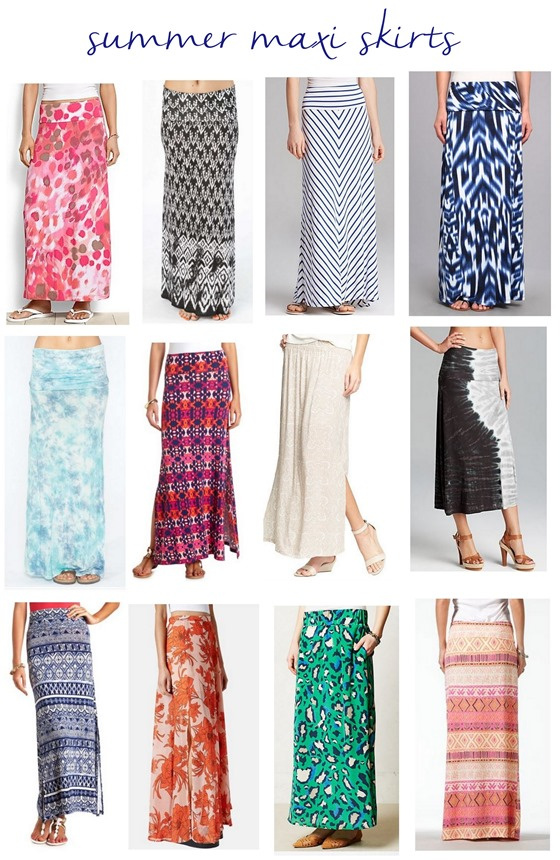 Summer Skirts Long - Skirts